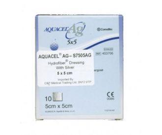 Aquacel AG Silver Dressing 5cm x 5cm (10)
