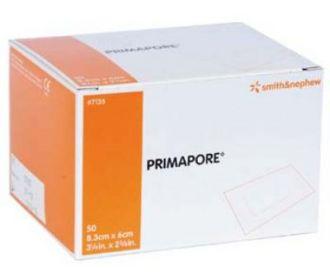 Primapore Dressing 8.3cm x 6cm (50)