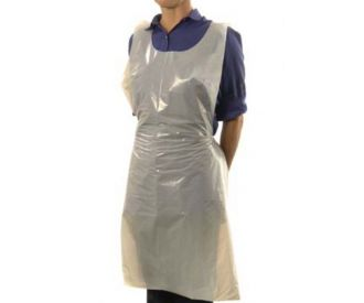 White Disposable Aprons