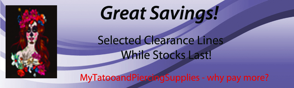 Great Savings on Clearance Lines