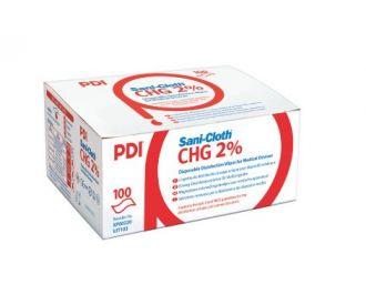 Sani-Cloth CHG 2% (100)