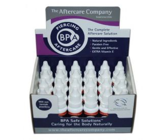 Body Piercing Aftercare - BPA Safe Solutions x 1