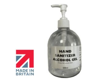 ALCOHOL HAND SANITISER 500ML WITH PUMP